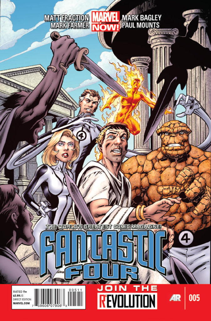 prv15599 cov 674x1024 Marvel Comics   Fantastic Four #5 (Preview)