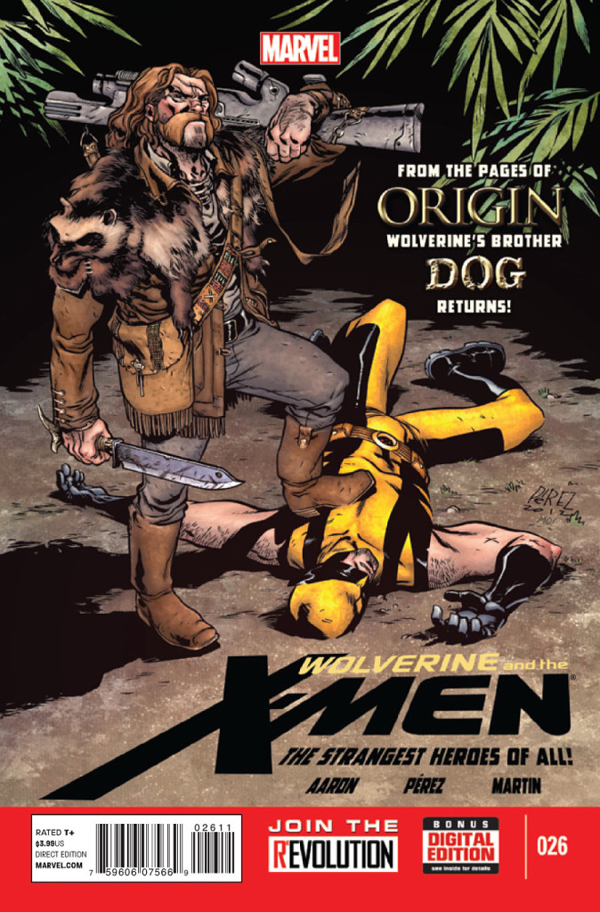 prv15608 cov 674x1024 Marvel Comics   Wolverine & The X Men #26 (Preview)