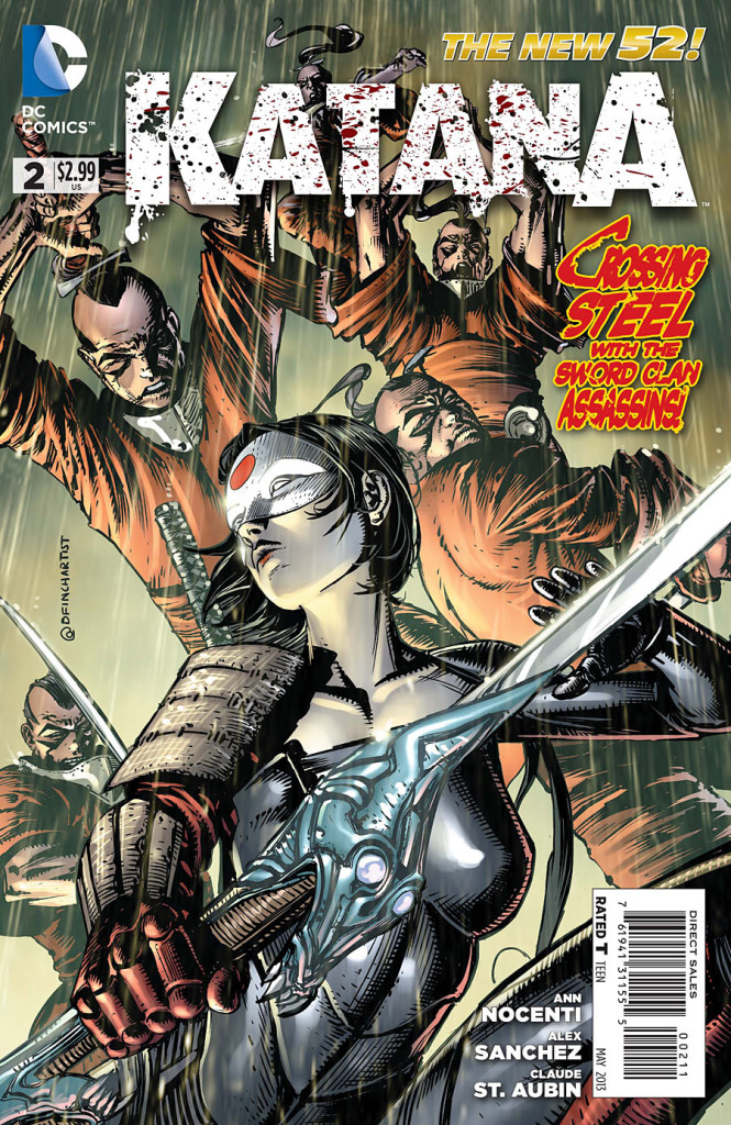 prv15628 cov 665x1024 DC Comics   Katana #2 (Preview)