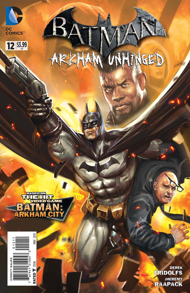 prv15650 cov 665x1024 DC Comics   Batman: Arkham Unhinged #12 (Preview)