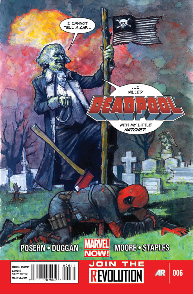 prv15690 cov 674x1024 Marvel Comics   Deadpool #6 (Preview)