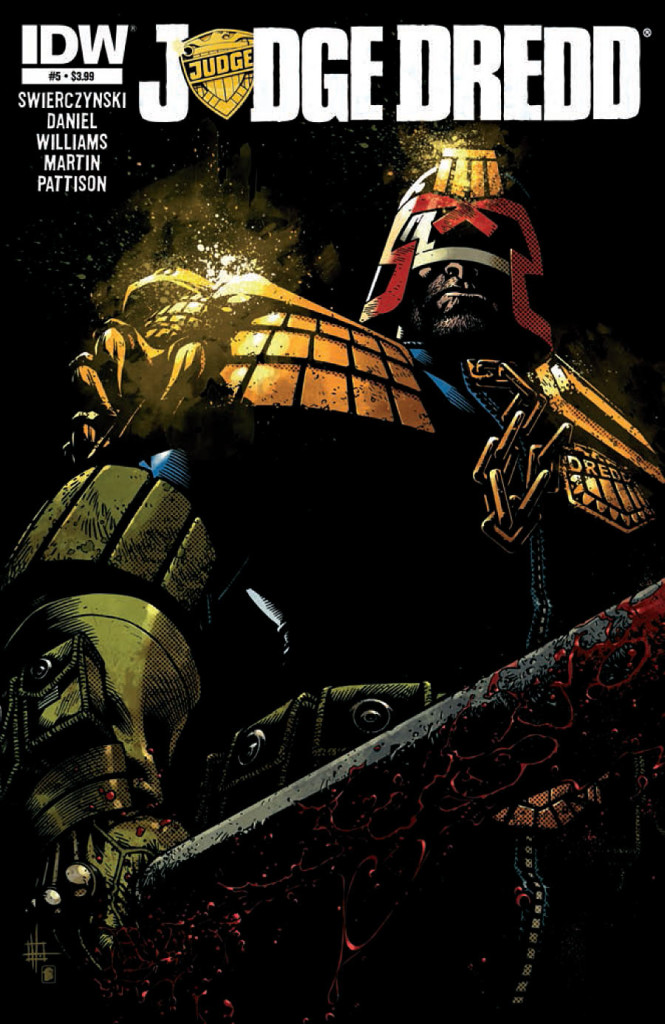 prv15834 cov 665x1024 IDW   Judge Dredd #5 (Preview)