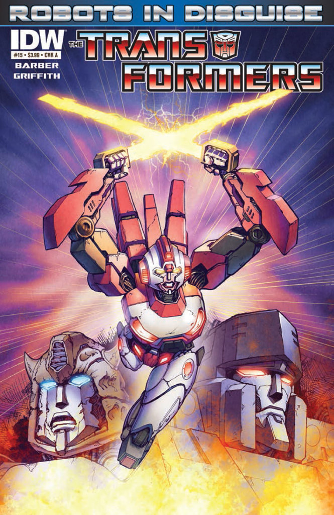 prv15842 cov 665x1024 IDW   Transformers: Robots in Disguise #15 (Preview)