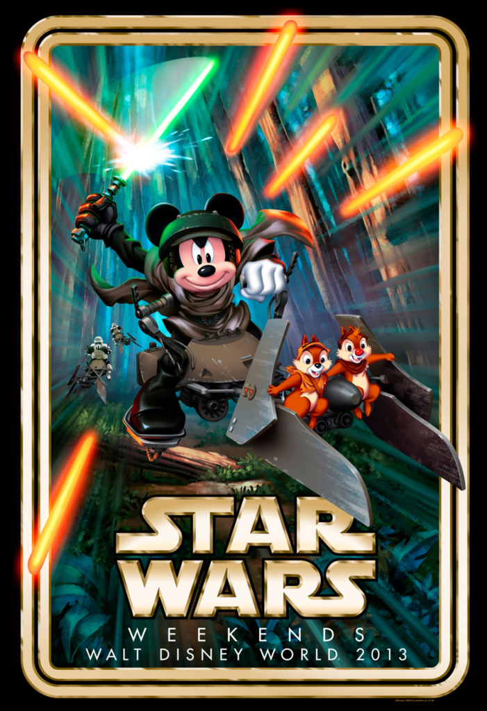 untitled12 701x1024 A Poster for Disneys Star Wars Weekend 2013